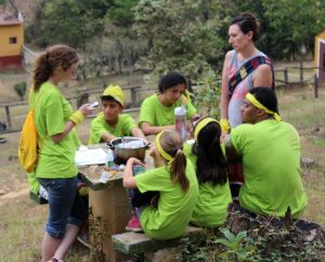 Bible summer camp for children from the orphanage Fundaninos