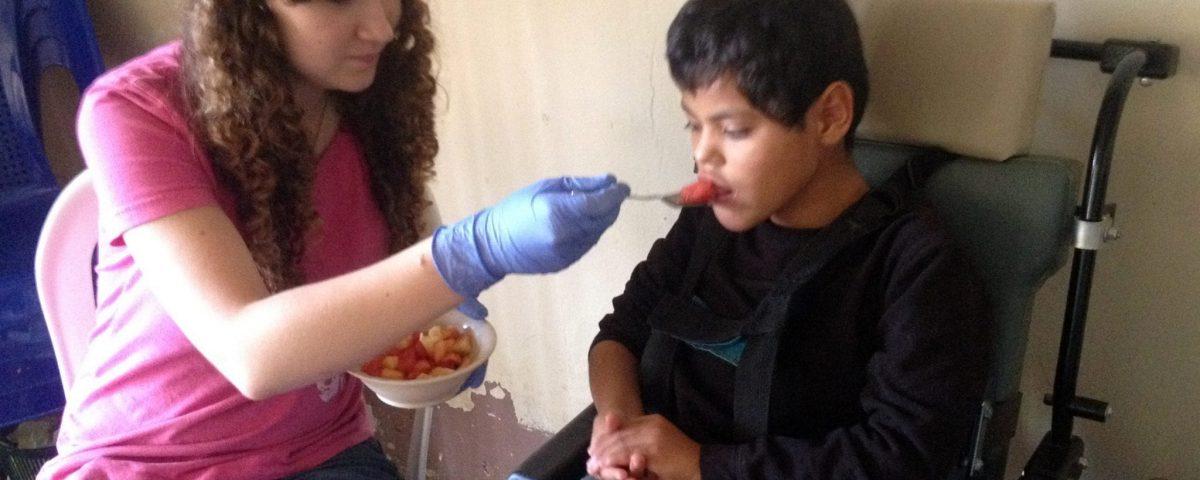 Cadanino with The Village Church mission team in Guatemala