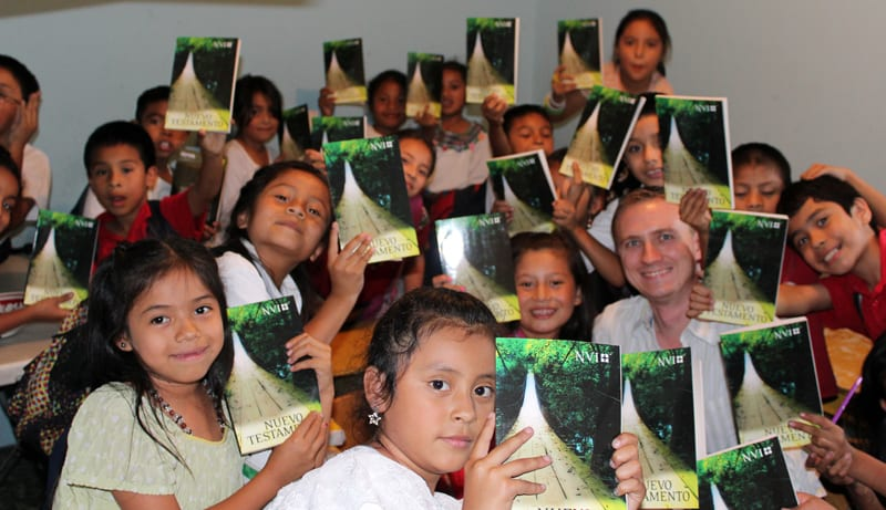 I Love Giving out Bibles in Guatemala