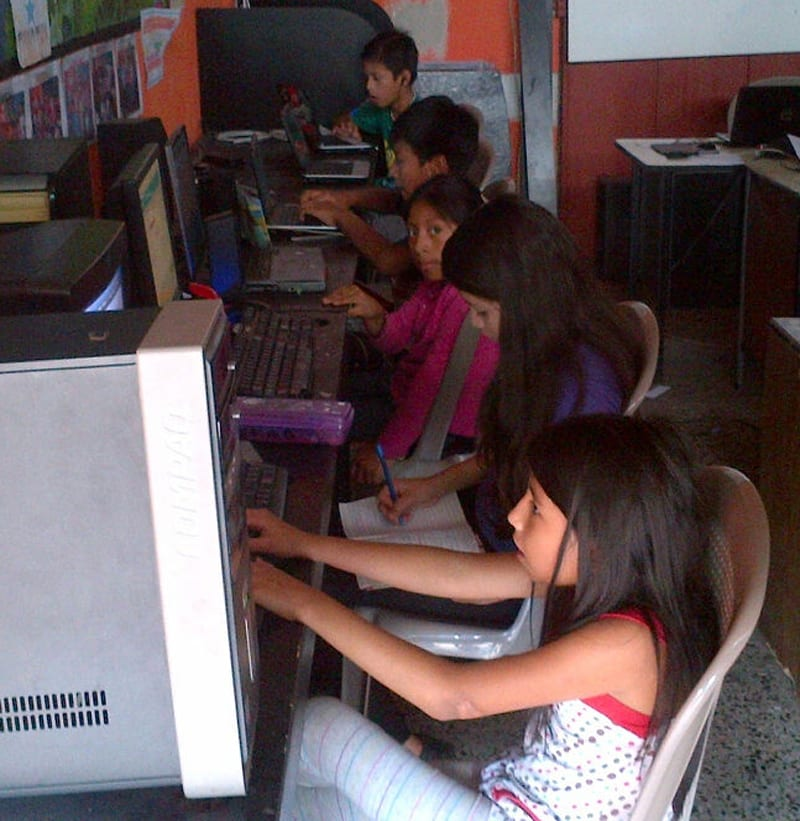 Computer classes at our VETC