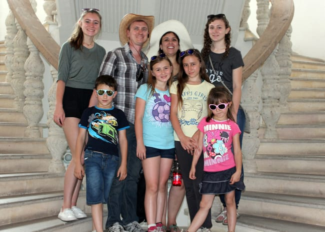 Martiny family missionaries in Mexico