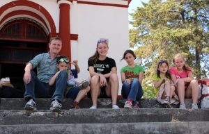 Seeing the sights in southern Mexico