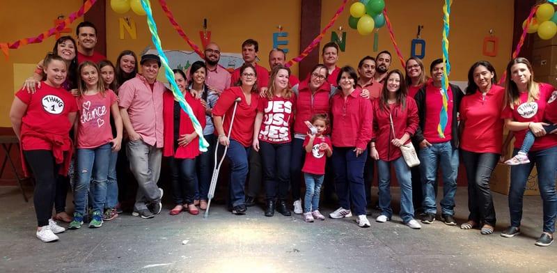 Serving with Casa de Libertad on Dia por Guatemala