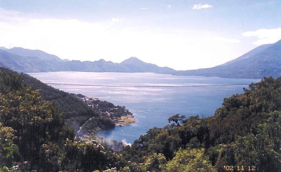 Beautiful lake Amatilan