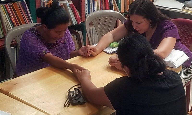 My favorite part of the week in Guatemala. Teaching Women the Bible.