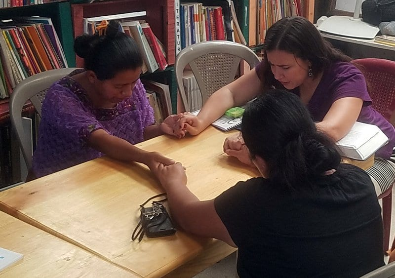 My favorite part of the week in Guatemala. Teaching Women the Bible.